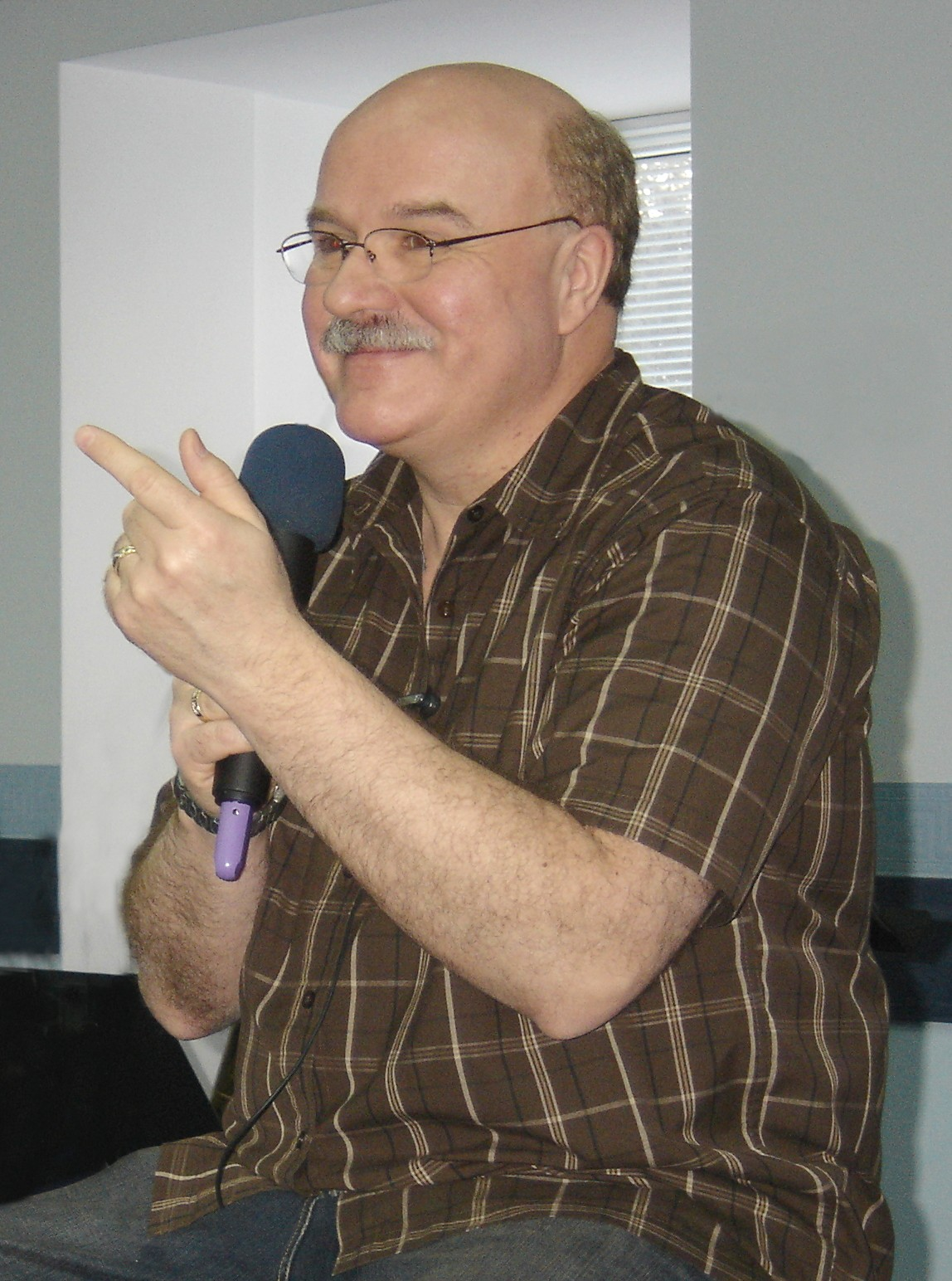 Bob Teaching in Ukraine
